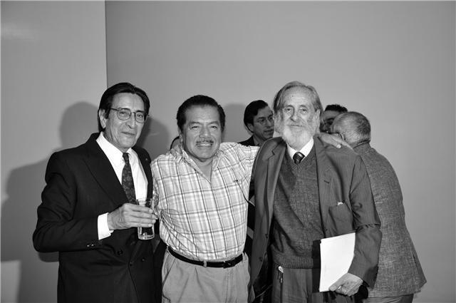 Sergio Mondragón, Roberto López Moreno, Enrique González Rojo/ CP-Pascual Borzelli Iglesias©