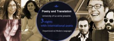 3 nights with international poets in L.A.