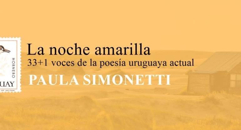 33 + 1 voces de la poesía uruguaya actual: Paula Simonetti