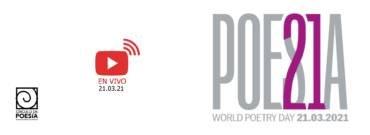 World Poetry Day 2021: Sigue aquí la transmisión en vivo